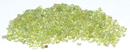 AzureGreen GCTPERB 1 lb Peridot tumbled chips 2-4mm