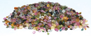 AzureGreen GCTTOURB 1 lb Tourmaline, Rainbow tumbled chips 2-4mm