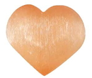 AzureGreen GHSELO 2 3/4 Orange Selenite heart