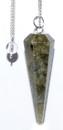 AzureGreen GPEND21 6-sided Labradorite pendulum