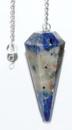 AzureGreen GPEND30 6-sided Sodalite pendulum