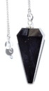 AzureGreen GPEND32 6-sided Black Tourmaline pendulum