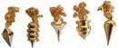 AzureGreen GPNDL1 Brass pendulum (various)