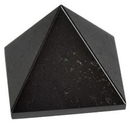 AzureGreen GPYHEM25 25-30mm Hematite pyramid