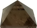 AzureGreen GPYSQ25 25-30mm Smoky Quartz pyramid