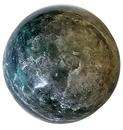 AzureGreen GSEMEFB 1# Emerald Fuchsite sphere