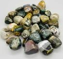 AzureGreen GTJASOB 1 lb Jasper, Ocean tumbled stones