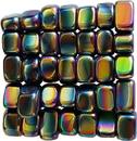 AzureGreen GTMHEMRB 1 lb Magnetic Rainbow Hematite stones