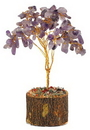 AzureGreen GTRAME Amethyst gemstone tree 160 beads