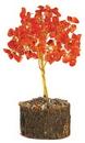 AzureGreen GTRCAR Carnelian gemstone tree