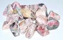 AzureGreen GTRHOAB 1 lb Rhodochrosite tumbled stones
