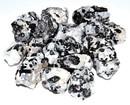 AzureGreen GUTOUQB 1 lb Tourmaline with Mini Quartz tumbled stones