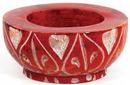 AzureGreen IB124VM Red Stone tealight/cone burner