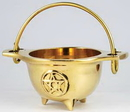AzureGreen ICBR33 Brass Cauldron 3