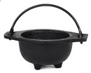 AzureGreen ICBR75 Cast Iron Cauldron 3