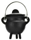 AzureGreen ICBR81 Plain cast iron cauldron w/ lid 2 3/4