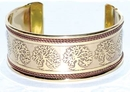 AzureGreen JB111TOL Tree of Life Copper and Brass bracelet