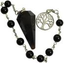 AzureGreen JBPBO Black Onyx pendulum bracelet