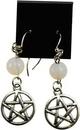 AzureGreen JECOPA Opalite Pentagram earrings