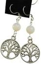 AzureGreen JETOPA Opalite Tree of Life earrings