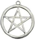 AzureGreen JPL1 pewter Pentagram