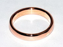 AzureGreen JRC0407 4mm Dome Band size 7 copper