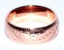 AzureGreen JRC080E8 8mm Band size 8 copper