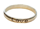 AzureGreen JRLB8 Love Band ring size 8 sterling