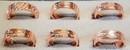 AzureGreen JRMCOP Copper Magnetic adjustable ring