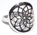 AzureGreen JRSDRE7 Dreamcatcher size 7 sterling ring