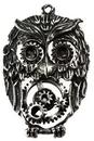AzureGreen JSOWL Steampunk Owl