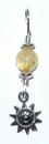 AzureGreen JSPSUNC Sun pendant with citrine bead