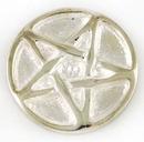 AzureGreen RA46B Pentagram altar coin 1 1/4