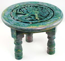 AzureGreen RA648S Round Tree of Life altar