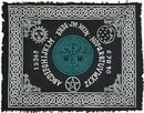 AzureGreen RAC89TL Tree of Life Ouija-Board altar cloth 24