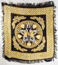 AzureGreen RAC91 Pentagram Goddess altar cloth 18