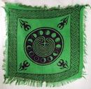 AzureGreen RAC92 Moon Phase altar cloth 18