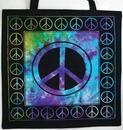 AzureGreen RB74PE Peace Sign Tote Bag