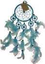 AzureGreen RDC147B 4 1/2 Light Blue dream catcher