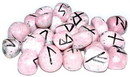 AzureGreen RRRHO Rhodonite rune set