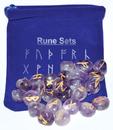 AzureGreen RRUNEA Amethyst rune set