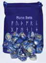 AzureGreen RRUNEL Lapis rune set