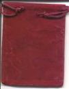 AzureGreen RV34BG Bag Velveteen 3 x 4 Burgundy