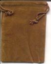 AzureGreen RV34BR Bag Velveteen 3 x 4 Brown