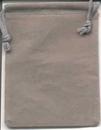 AzureGreen RV34GY Bag Velveteen 3 x 4 Grey