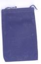 AzureGreen RV46BU Bag Velveteen 4 x 5 1/2 Blue