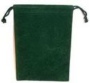 AzureGreen RV46GR Bag Velveteen 4 x 5 1/2 Green