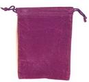 AzureGreen RV46PU Bag Velveteen 4 x 5 1/2 Purple