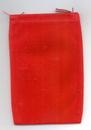 AzureGreen RV46R Bag Velveteen 4 x 5 1/2 Red