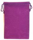 AzureGreen RV57PU Bag Velveteen 5 x 7 Purple